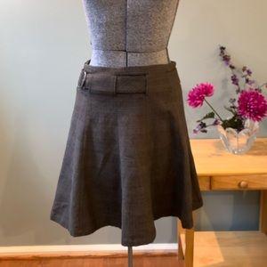 Nau Metric Plaid Skirt